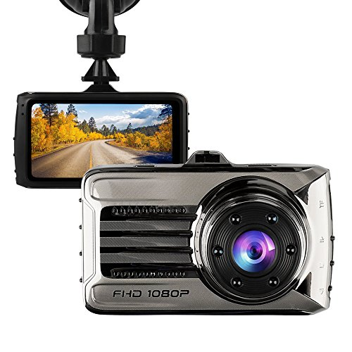 Dash Cam,Hliwoynes 3.0″ Screen,170 Degree Wide Angle,Full HD 1080P, Car dashboard Camera, Vehicle On-dash Video Recorder Camcorder with G-Sensor, Loop Recording,Night Vision (Upgraded version-HD)
