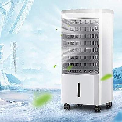 Refrigerador De Aire 3 En 1, Ventilador De Aire Acondicionado De Escritorio, Control Mecánico, Humidificador, Purificador De Aire, Velocidad Del Viento De Tres Velocidades, Aire Acondicionado Pequeño: Amazon.es: Hogar