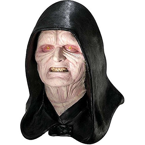Emperor Palpatine Costume Mask - Deluxe Emperor Palpatine Mask Costume Accessory