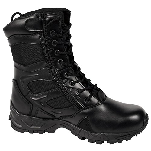 Mens Boots - Deployment Forced Entry, Black, 9 Wide by Rothco - Rothco Nylon Boot