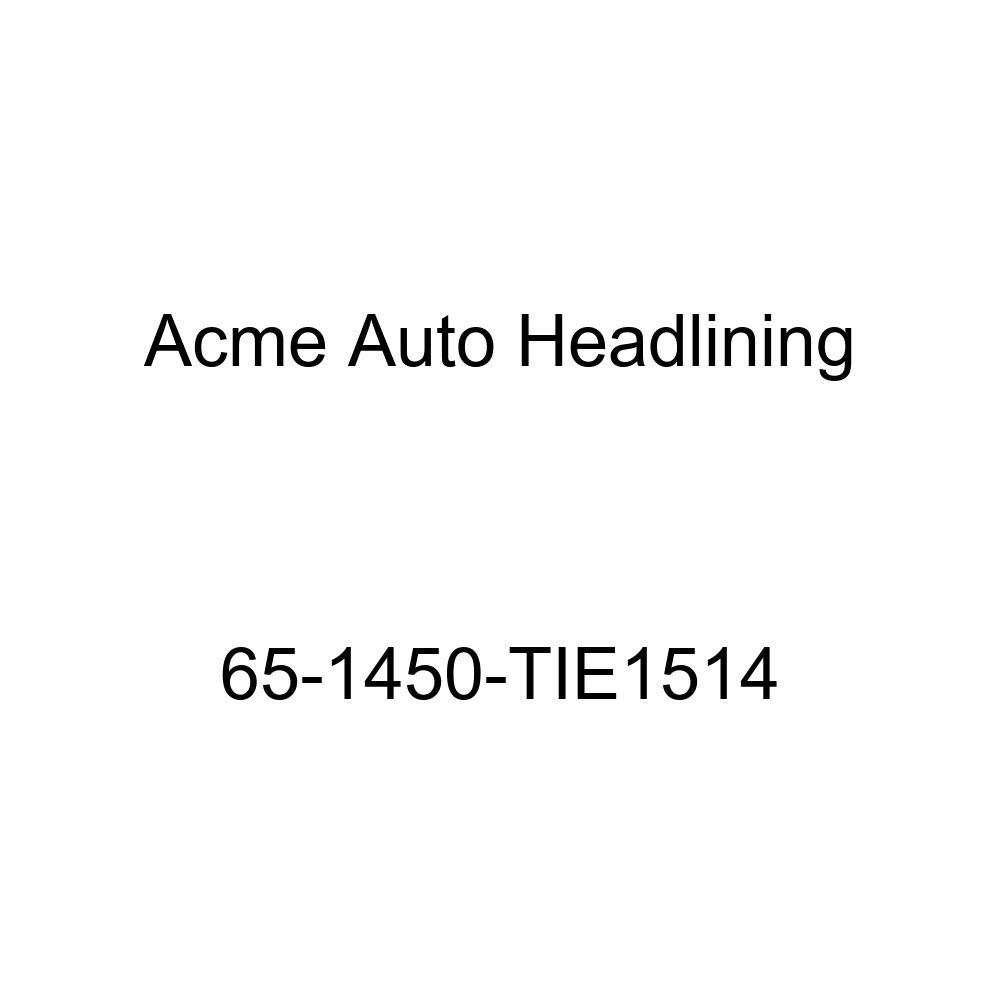 Acme Auto Headlining 65-1450-TIE1514 Silver Blue Replacement Headliner Chevrolet El Camino 3 Bow