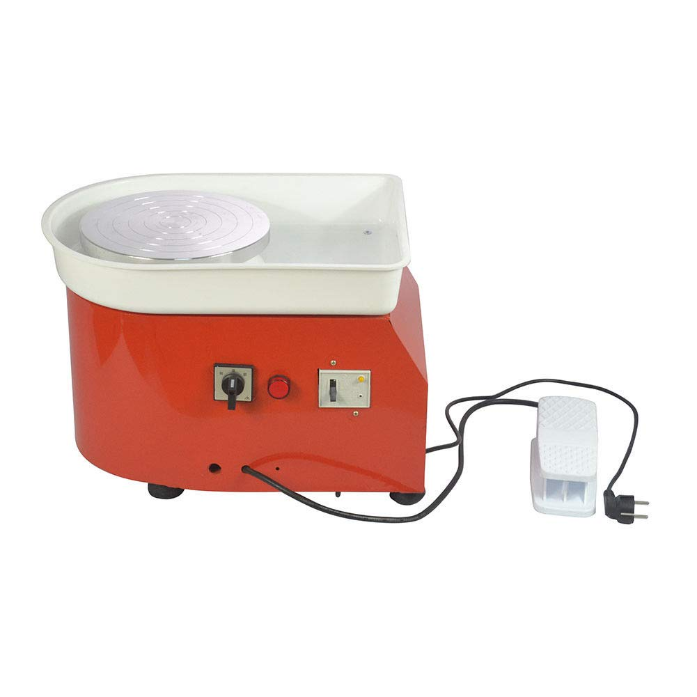 25cm 9.84 350W 110V Electric Pottery Wheel Ceramic Machine Work Clay Art Craft