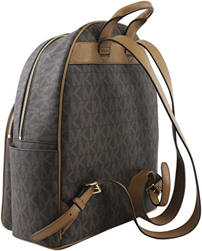 ef02111fb51b Amazon.com  MICHAEL Michael Kors Abbey Jet Set Large Leather Backpack  (Black 2018)  Shoes