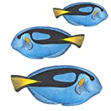 Blue Fish Small Under the Sea Tropical Fish Bath Wall Mural Stickers
