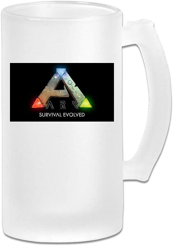 Taza impresa de cristal esmerilado de 473 ml, con logotipo de ...