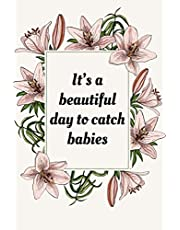 Midwife Gifts: Birth Worker Journal, Labor and Delivery Nurse Present, Baby Catcher Appreciation Gifts For Women