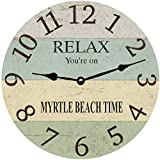Personalized Coastal Clock For Sale