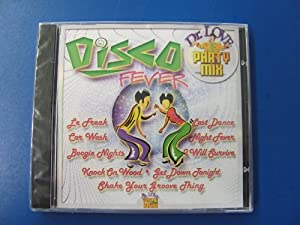 Audio CD Disco Fever - Party Mix Book