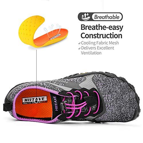 ALEADER hiitave Unisex Minimalist Trail Barefoot Runners Cross Trainers Hiking Shoes 5