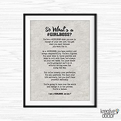 picture about Free Quote Printable known as : Workplace Wall Artwork Motivational Wall Decor
