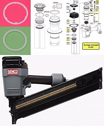 NEW Replacement Senco Framing Nailer SN60 SN65 O-ring + BF0102 + LB5054 Rebuild Kit