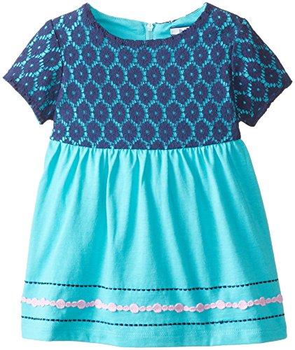 Hartstrings Little Girls' Cotton Jersey Tunic, Moonstone, 6