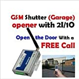 GSM Gate Door Opener Operator with SMS Remote Controller RTU5015 home alarm
