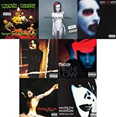 Albums Included: Portrait Of An American Family (1994) Mechanical Animals (1998) Holy Wood (In the Shadow of the Valley of Death) (2000) The Golden Age of Grotesque (2003) Eat Me, Drink Me (2007) The High End of Low (2009) Born Villain (2012)...