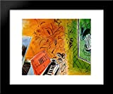 This is a high quality framed open edition art print. The frame is a two inch wide black wood frame. This is framed with a high grade museum quality acrylic. This is in stock and framed right away after your order is placed. Your satisfaction is guar...