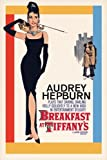 Audrey Hepburn-Breakfast at Tiffany's One Sheet, Movie Poster Print, 24 by 36-Inch