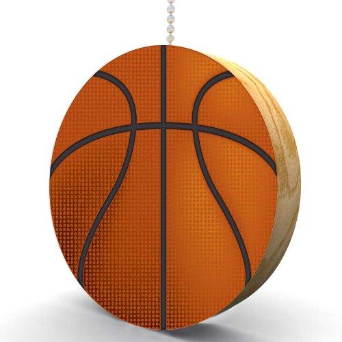 Basketball Hardwood Oak Fan/Light Pull