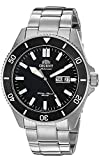 Orient Men's Kano Japanese-Automatic Diving Watch with Stainless-Steel Strap, Silver, 22 (Model: RA-AA0008B19A)