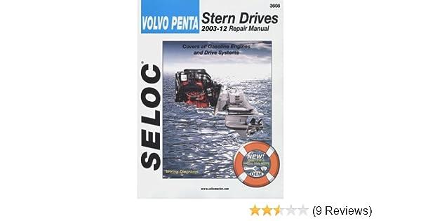 Volvo Penta Stern Drive 2003-2007 #3608 Seloc Service Manual