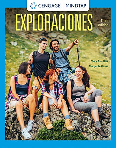 MindTap for Blitt/Casas' Exploraciones, 3rd Edition [Online Code] by Cengage Learning