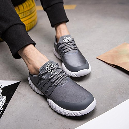 Uomo da Scarpe estive da Scarpe Scarpe Corsa Sneakers Lavoro Cross Uomo Scarpe Uomo Uomo Grigio Scarpe Scarpe da Ginnastica Sportive Uomo Scarpe Ginnastica beautyjourney Running Xp7Iw7