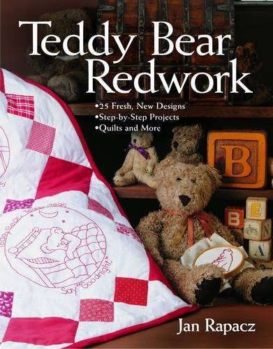Teddy Bear Redwork (Teddy Embroidery Design)
