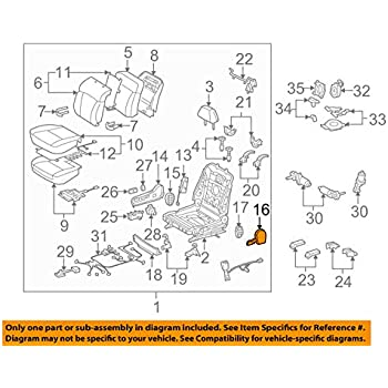 TOYOTA Genuine 71071-12420-06 Seat Cushion Cover