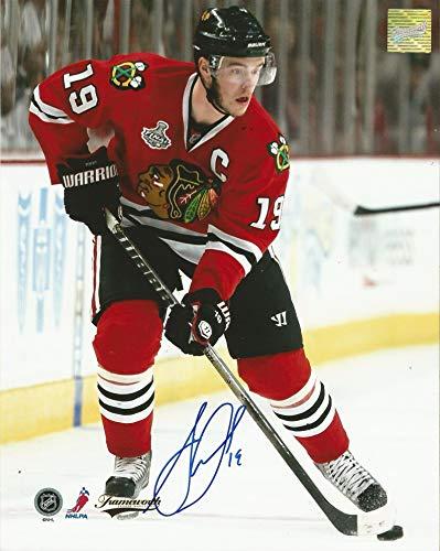 Jonathan Toews Autographed 8x10 Photo