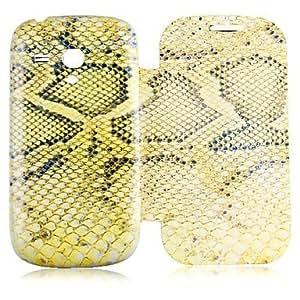 YULIN Teléfono Móvil Samsung - Carcasas de Cuerpo Completo - Dibujos Animados/Diseño Especial - para Samsung S3 Mini I8190N ( Multi-color , Cuero PU )