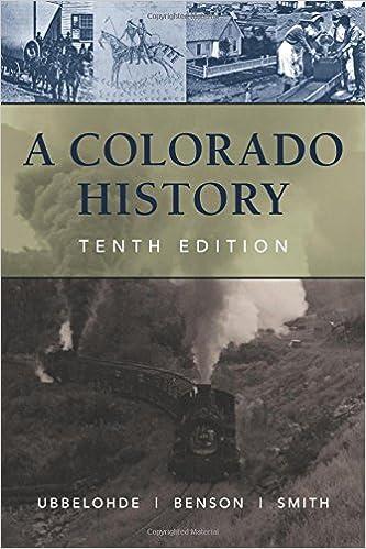 Amazon A Colorado History 10th Edition The Pruett Series