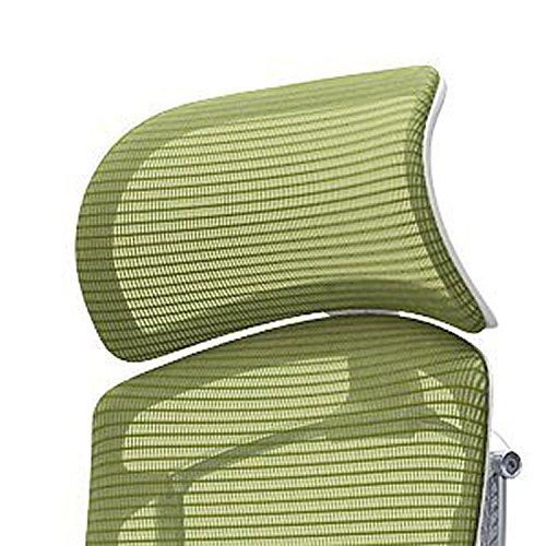 オカムラ デスクチェア オフィスチェア コンテッサ セコンダ オプションパーツ 大型固定ヘッドレスト レッド CC501W-FSP9 B071P6VTYW レッド|ホワイト レッド