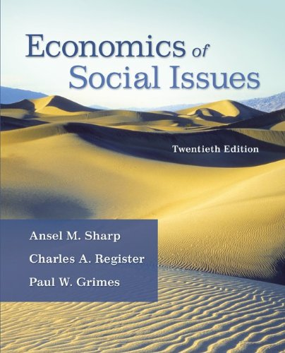 Economics of Social Issues (The Mcgraw-Hill Economics Series) (The Social Register compare prices)