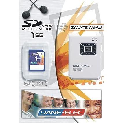 DANE-ELEC ZMATE SD-MMC WINDOWS 7 DRIVERS DOWNLOAD (2019)