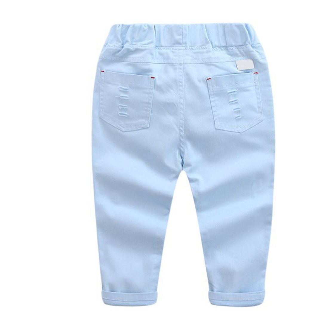 daqinghjxg 2018 Toddler Boys Pants Baby Boys Casual Loose Trousers Solid Long Pants