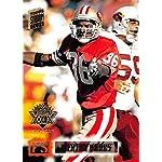 d6a26740051 1994 Stadium Club Super Teams Super Bowl Football #475 Merton Hanks San  Francisco.