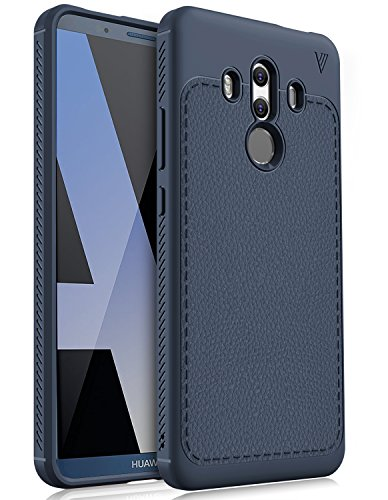 Price comparison product image Huawei Mate 10 pro case, KuGi [Scratch Resistant] Premium Flexible Soft TPU Case for Huawei Mate 10 pro smartphone(Navy)