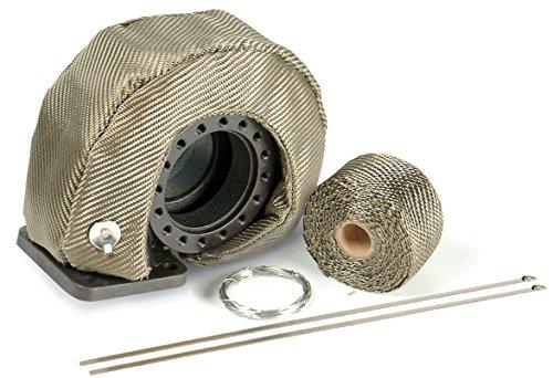 "UPC 607078101457, DEI 010145 T4 Titanium Turbo Shield Kit - Custom Fit Turbo Blanket, 22"" x 2.75"""