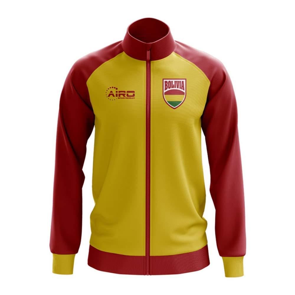 Airo Sportswear Bolivia Concept Football Track Jacket (Yellow)
