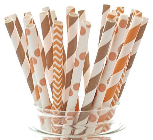 Review Thanksgiving Dinner Straws (25