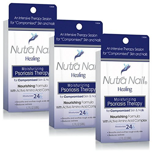 Nutra Nail ''Healing'' Moisturizing Psoriasis Therapy (Pack of 3) by Nutra Nail