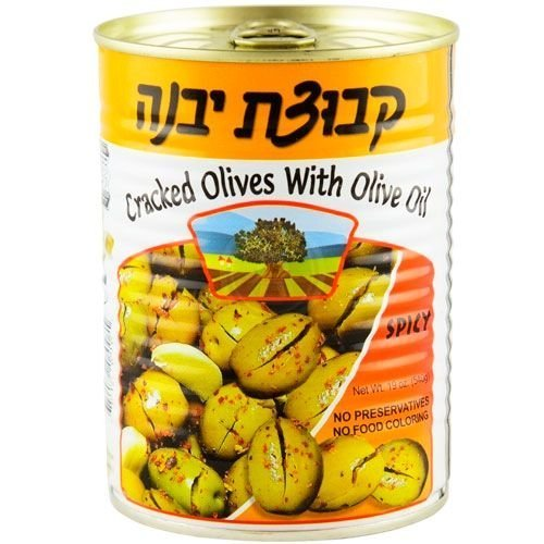 Kvuzat Yavne Cracked Spicy With Olive Oil 19 Oz. Pk Of 3.