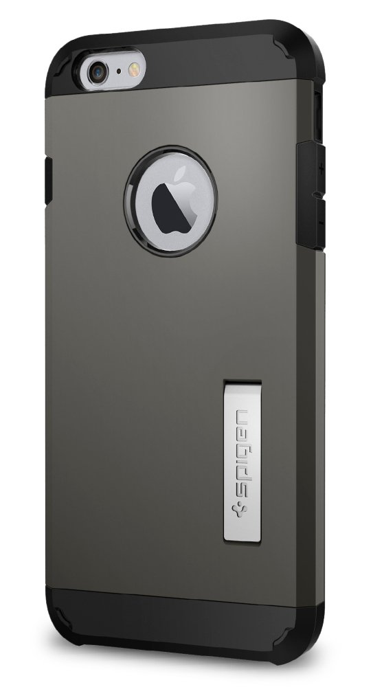 Funda Spigen iPhone 6/6s Plus [gunmetal] Tough Armor