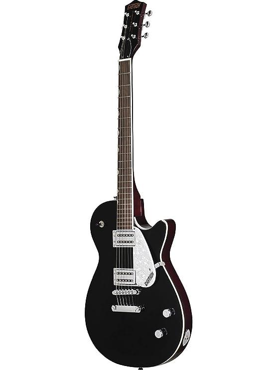 Amazon.com: Gretsch G5425 Electromatic Jet Club Electric Guitar - Black: Musical Instruments