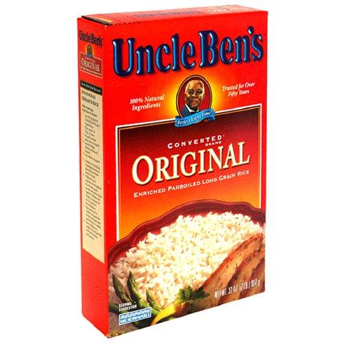 Uncle Ben's Converted Original Enriched ParBoiled Long Grain Rice , 32 oz (2 lb) 907 g by Uncle Ben's