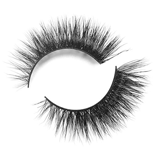 BEPHOLAN Mink Lashes| 100% Siberian Mink Fur Lashes| Dramatic Flare Look| 3D Layered | 100% Cruelty-Free & Handmade| Reuseable False Eyelashes| 1 Pair Package| XMZ08