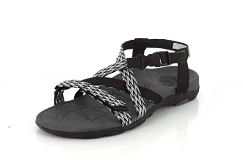 Vionic Womens Sage Dorrin Backstrap Sandal Black Charcoal Size 5