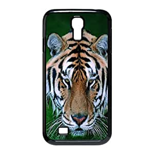 The king of beasts Tiger Hard Plastic phone Case Cover+Free keys stand For SamSung Galaxy S4 Case ZDI038684
