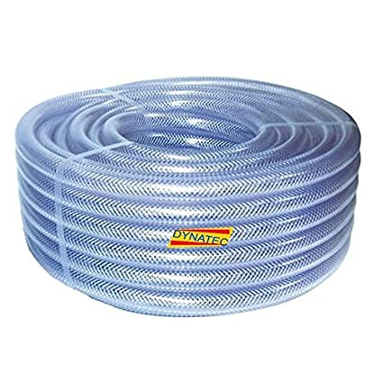 Clara trenzado manguera PVC 25 mm (1) 30 m agua, Compresor De Aire