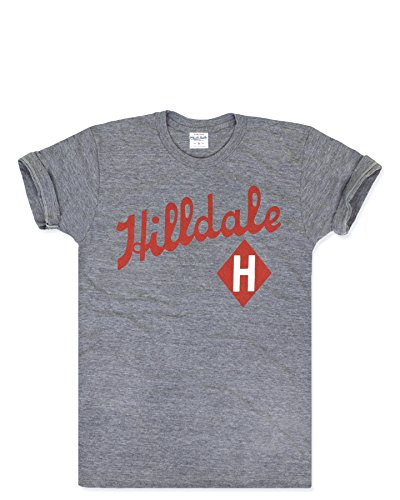 Charlie Hustle Unisex Negro League Hilldale Giants T-Shirt XL Heather Grey