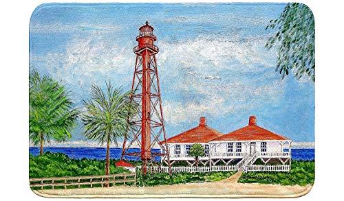 Betsy Drake Sanibel Lighthouse Bath Mat 24x30